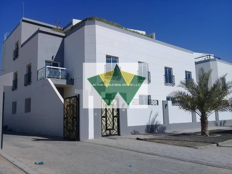 2 Private Entrance Spacious  3 B/R apt Near Mazyed Mall for Rent in %% MBZ City