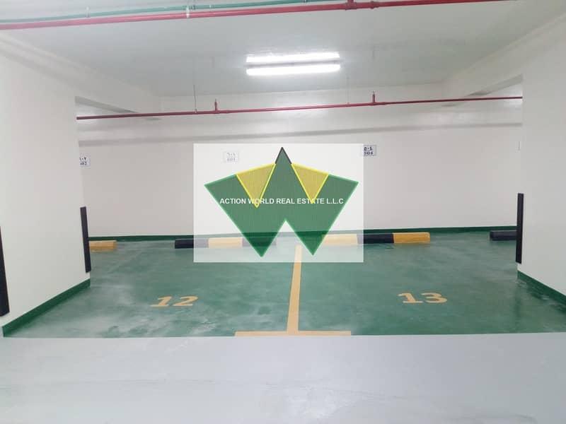 12 Washing Machine Facility  Basement parking