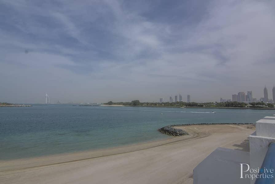 55 Burj Al Arab View | Direct beach access| Ready to move in