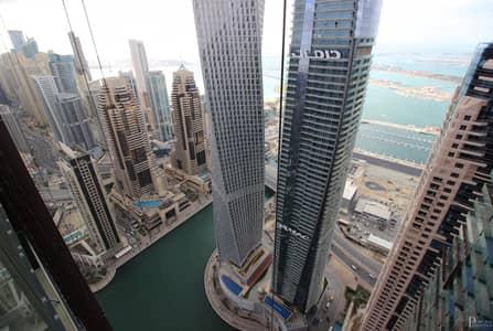 2 Bedroom Flat for Rent in Dubai Marina, Dubai - Full Bluewaters & Sea View - Chiller Free