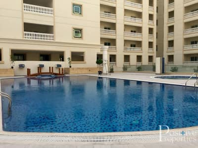 Studio for Rent in Jumeirah Village Circle (JVC), Dubai - SEMI FURNISHED DEAL!! STUDIO WITH BALCONY ALL FACILITIES APT IN JVC
