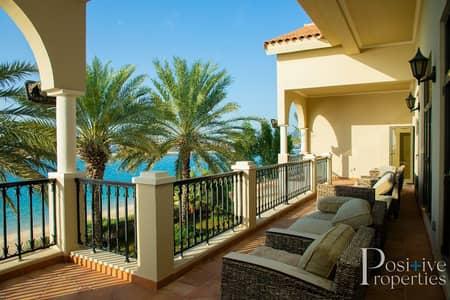 6 Bedroom Villa for Rent in Palm Jumeirah, Dubai - Signature Villa- High Number- Marina Skyline