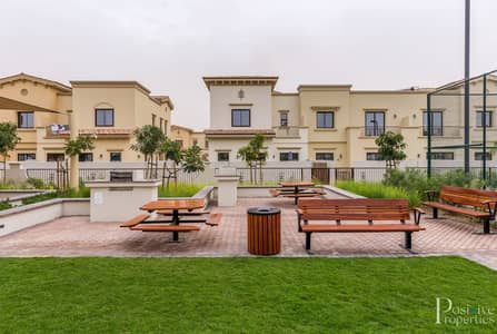 3 Bedroom Townhouse for Sale in Reem, Dubai - Single row   Corner Villa   Next to Pool and park