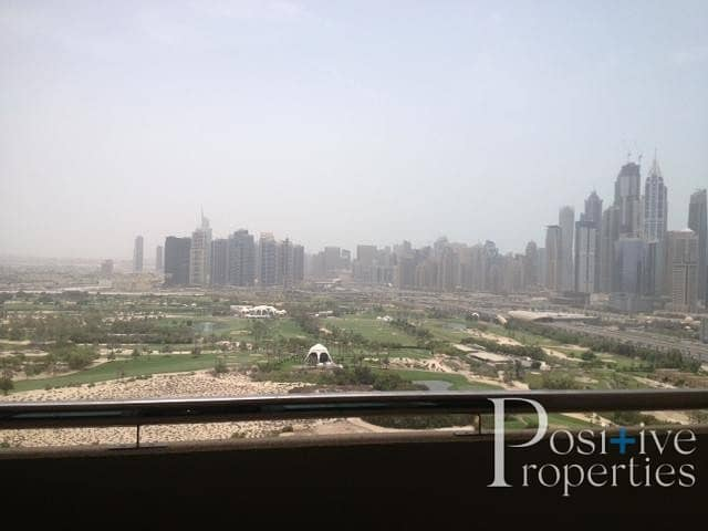 Full Golf Course view Bright  well Maintained