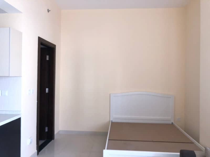 BRAND NEW SEMI FURNISHED STUDIO WITH BALCONY  FOR RENT IN  AL WARSAN 4