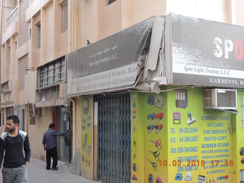 6 SHOP AVAILABLE FOR RENT NEAR ASTORIA HOTEL