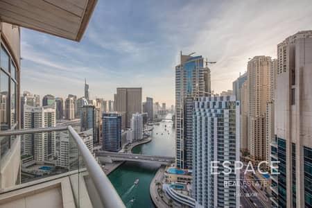 2 Bedroom Flat for Sale in Dubai Marina, Dubai - Marina View | Higher Floor | 1302 sqft