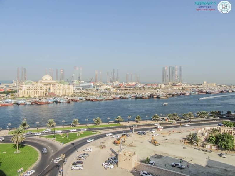 15 2 B/R Hall flat with Sea view in Corniche area