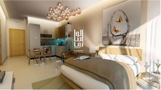 1 Bedroom Flat for Sale in Dubai Studio City, Dubai - LUXURY ONE BEDROOM WITH INSTALMENT FOR 8 YEARS