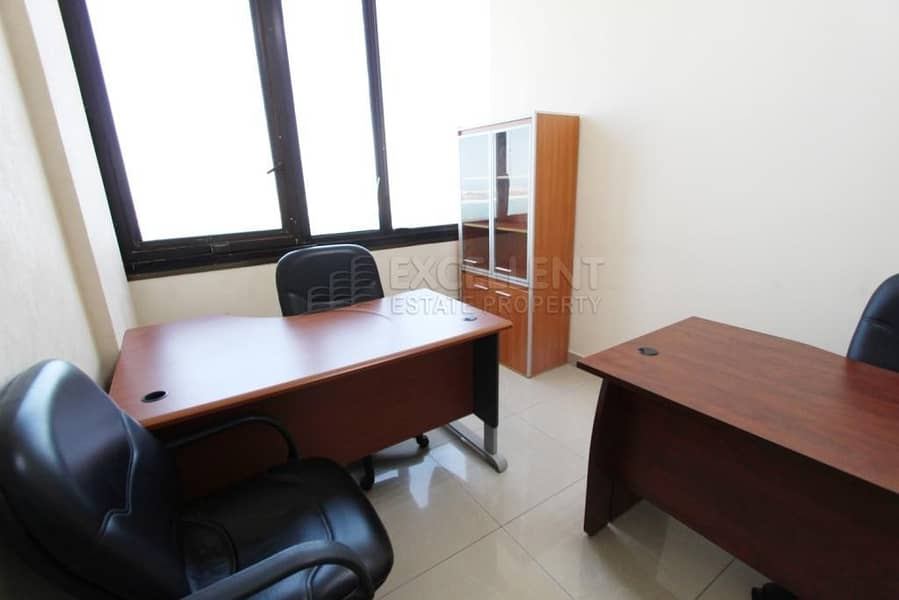 2 Semi- Fitted  No Commission  Sea View Office Space