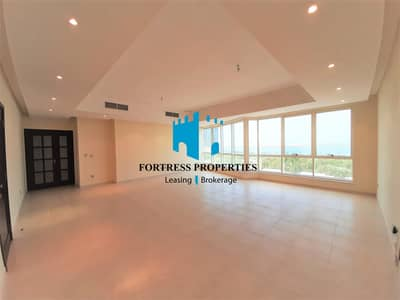 Stunning Serenity With Sea View | 3BHK w/ Maidsroom & Complete AMENITIES!