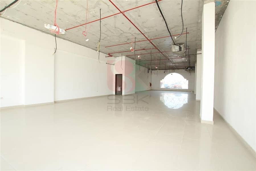 2 Only AED 85/- Sqft | Spacious Retail Shops