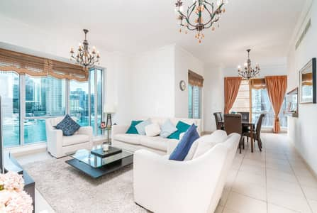 2 Bedroom Flat for Sale in Dubai Marina, Dubai - Rare 02 Unit|Full Marina View I Exclusive Listing