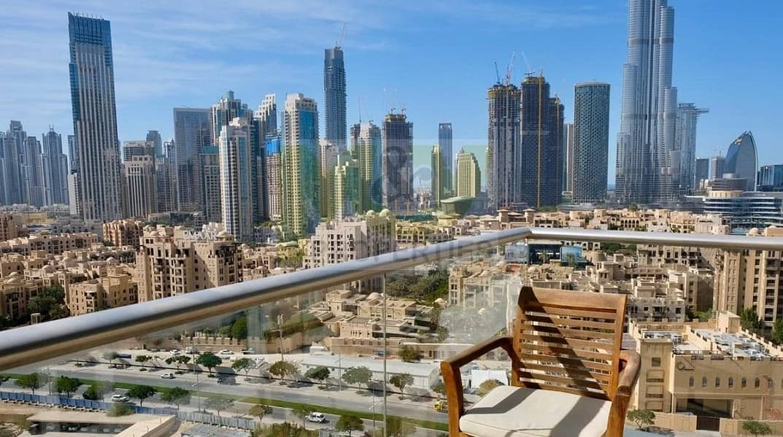 24 Fully renovated 2 BR* Burj Khalifa View