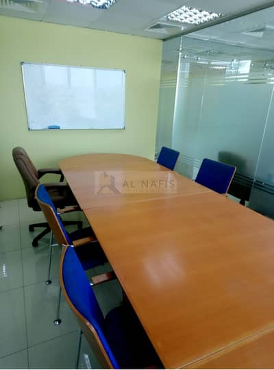 Office for Sale in Business Bay, Dubai - Fully Fitted Office with Cabins and Furniture for Sale