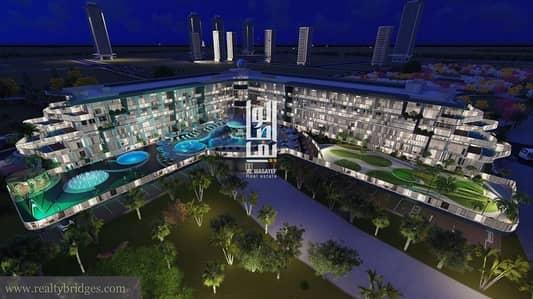 Studio for Sale in Dubai Studio City, Dubai - DREAM HOME WITH PRIVATE INFINITY POOL
