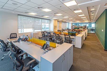 Office for Sale in Business Bay, Dubai - 3 Combined Offices | Large Terrace | 25 Car Parks