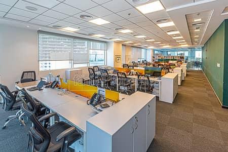 مکتب  للبيع في الخليج التجاري، دبي - 3 Combined Offices | Large Terrace | 25 Car Parks