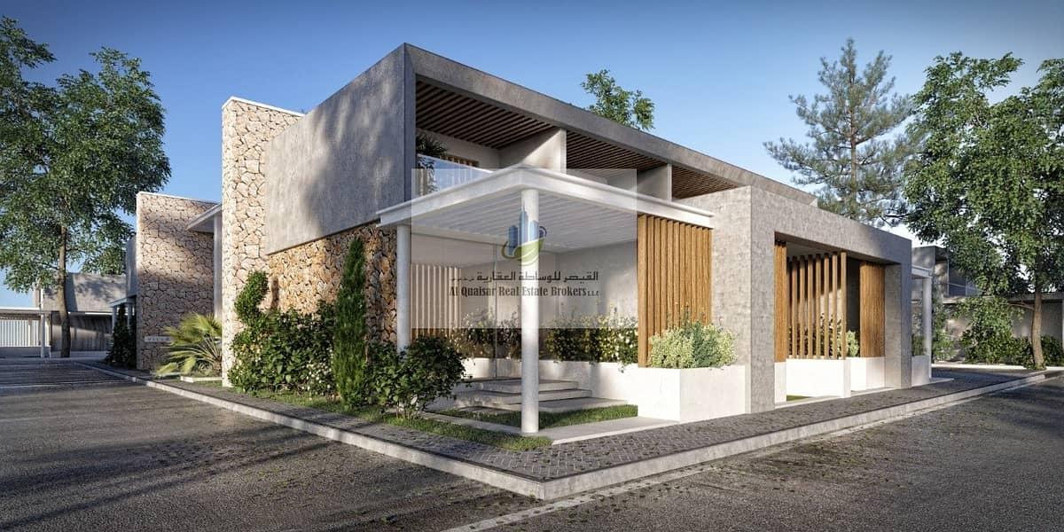 I own a villa corner at a special price in Dubai.