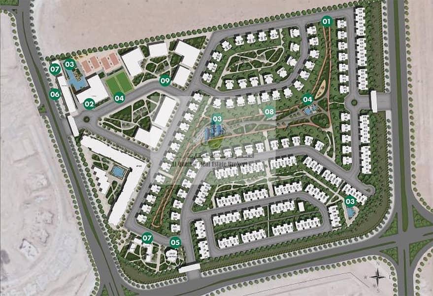 11 I own a villa corner at a special price in Dubai.