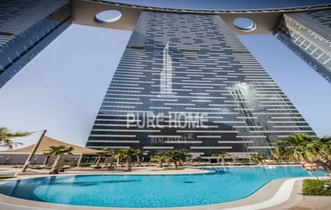 1 Bedroom Apartment for Sale in Al Reem Island, Abu Dhabi - For Sale Big Layout Apartment with Beautiful Full View