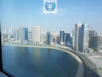 شقة 3 غرف نوم للايجار في الخان، الشارقة - SPACIOUS + WATER VIEW + CHILLER FREE 3 BHK APARTMENT WITH GYM/POOL/PARKING FREE