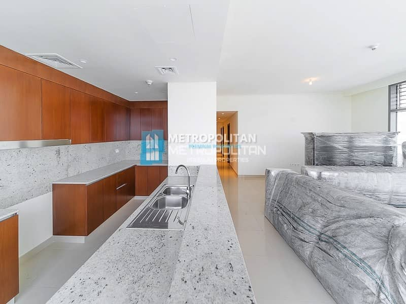 2 Large type | Semi Closed Kitchen | With Maids Room