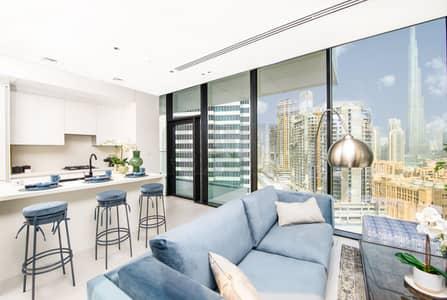 استوديو  للبيع في الخليج التجاري، دبي - Attractive Plan and ROI | Iconic Burj Khalifa View