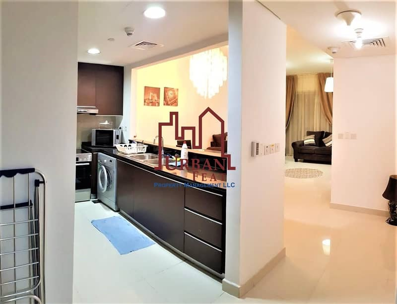 2 Fully furnished 1BR available 2chqs