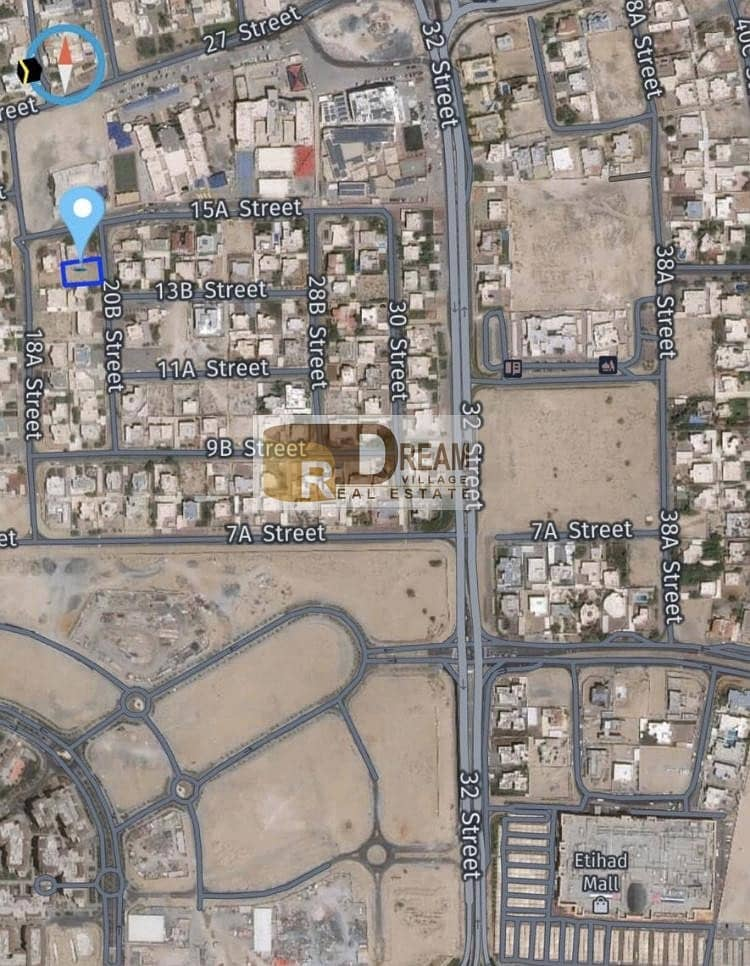 Best deal  deal  Plot for sale in Muhaisnah 1