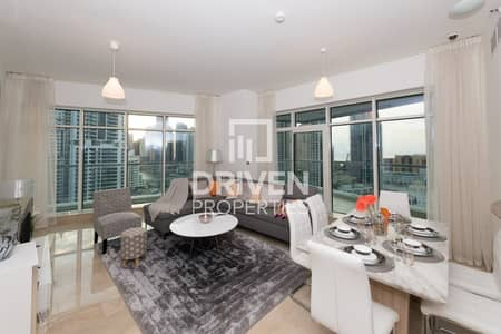 3 Bedroom Apartment for Sale in Dubai Marina, Dubai - Luxurious Furnished 3 Bedroom Apt + Maids