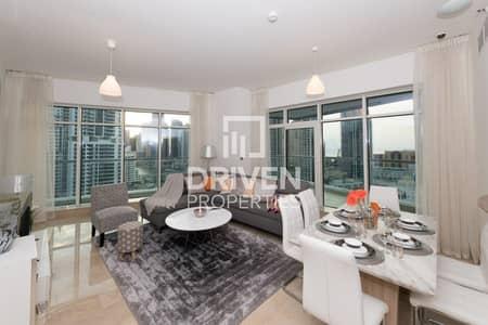 شقة 3 غرف نوم للبيع في دبي مارينا، دبي - Luxurious Furnished 3 Bedroom Apt + Maids