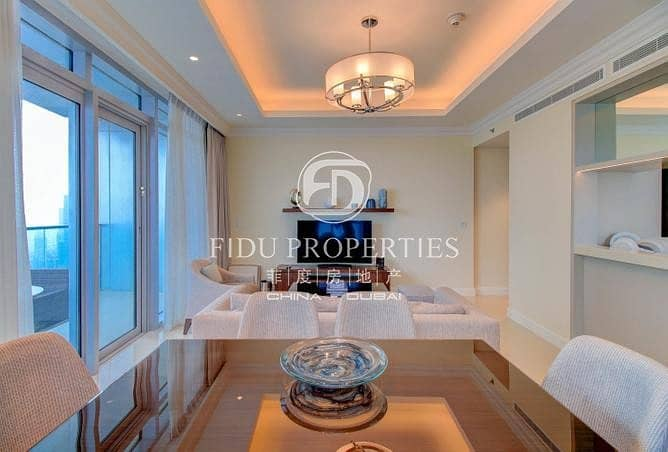 2 Burj Khalifa View | Furnished Apartment | Rented