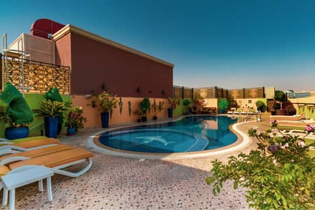 1 Bedroom Flat for Rent in Dubai Silicon Oasis, Dubai - LUXURY 1 BEDROOM HALL POOL GYM PARKING JACUZI SAUNA SNOOKER ETC