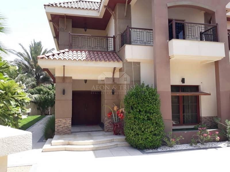2 Large Plot I 5 Bed Mansions I Jumeirah Island