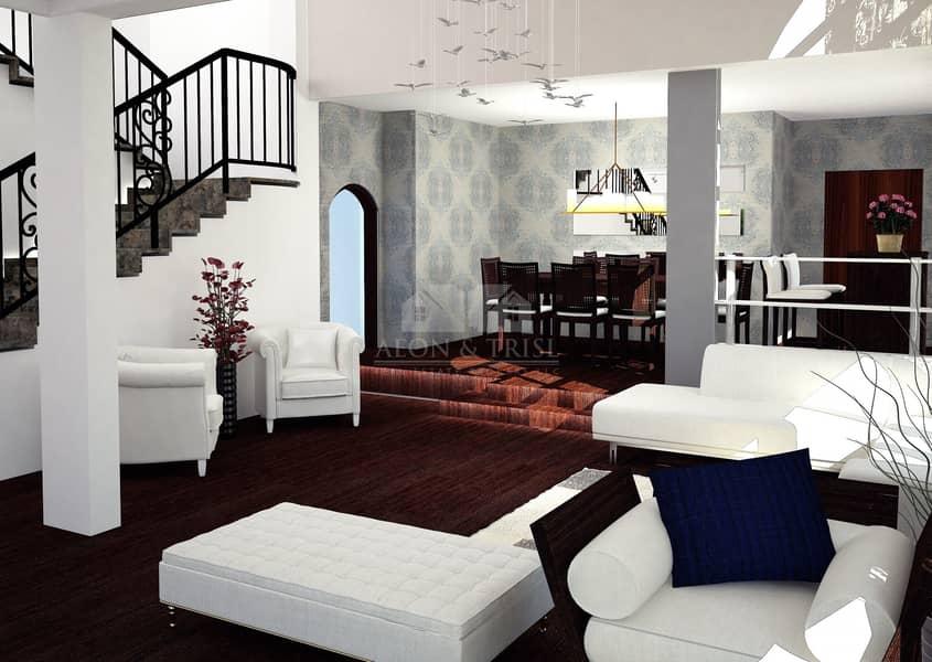 11 Large Plot I 5 Bed Mansions I Jumeirah Island