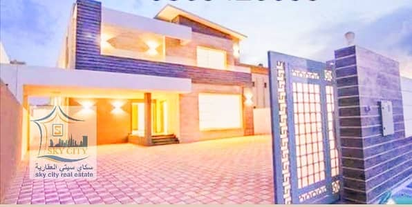 A very luxurious villa in Ajman with a distinctive residential location