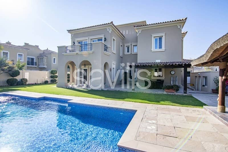 Upgraded 4 BR Villa   Landscaped Garden with Pool