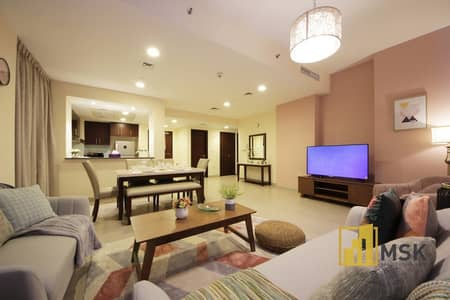 2 Bedroom Flat for Rent in Culture Village, Dubai - ROYALLY FURNISHED 2 Bedrooms + Maid at Dubai Wharf