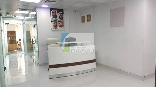 Floor for Rent in Business Bay, Dubai - FITTED FULL FLOOR  |  For rent | for Office or Business Center