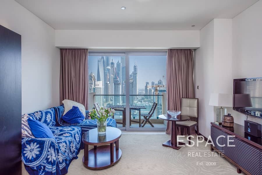 2 Exclusive | Luxury Serviced Apartment | Full Marina View