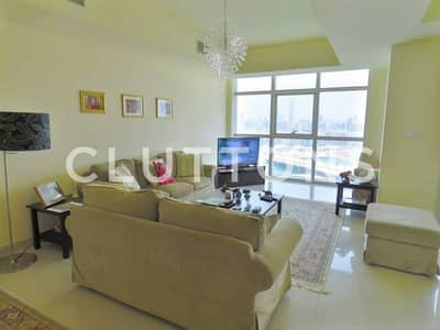 Large three bedroom apartment with panoramic full sea view