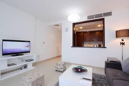 شقة 2 غرفة نوم للبيع في وسط مدينة دبي، دبي - FURNISHED   HUGE TERRACE   LOW FLOOR