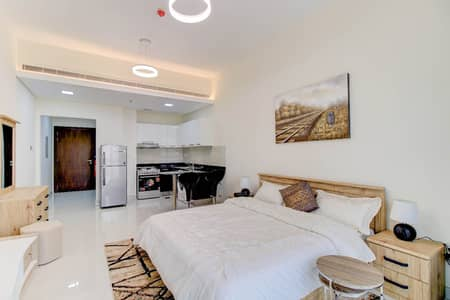 Studio for Rent in Liwan, Dubai - FULLY FURNISHED STUDIO IN LIWAN 1 MONTH FREE ZERO COMMISSION 35K IN 4 CHEQUE