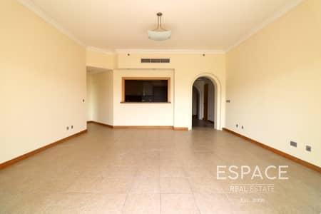 فلیٹ 2 غرفة نوم للايجار في نخلة جميرا، دبي - Popular Type D 2 Beds with Maids in Shoreline With Park View
