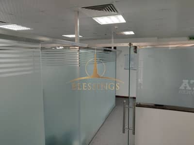 Office for Rent in Jumeirah Lake Towers (JLT), Dubai - VACANT |  FITTED OFFICE | LAKE VIEW