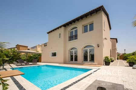 5 Bedroom Villa for Rent in Jumeirah Golf Estate, Dubai - Upgraded   Modified Layout   Private Pool