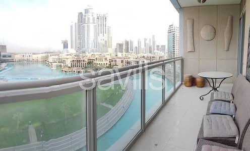 فلیٹ 3 غرف نوم للبيع في وسط مدينة دبي، دبي - Fantastic 3 BR w/ Burj Khalifa and Fountain Views
