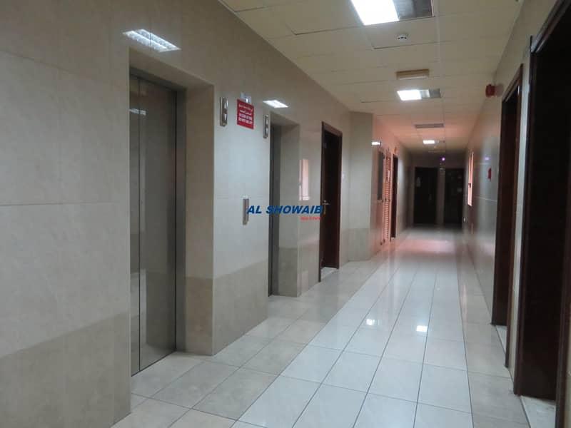 7 Spacious 1 Bhk with Parking for family behind NMC hospital Al Nahda