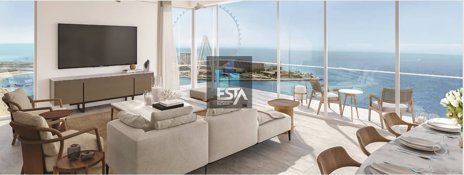1 BEd in JBR with payment plan and NO Commission